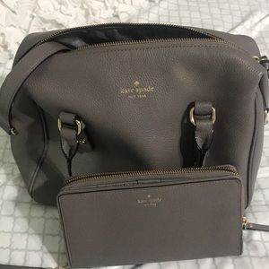 Kate spade bundle wallet and small tote !